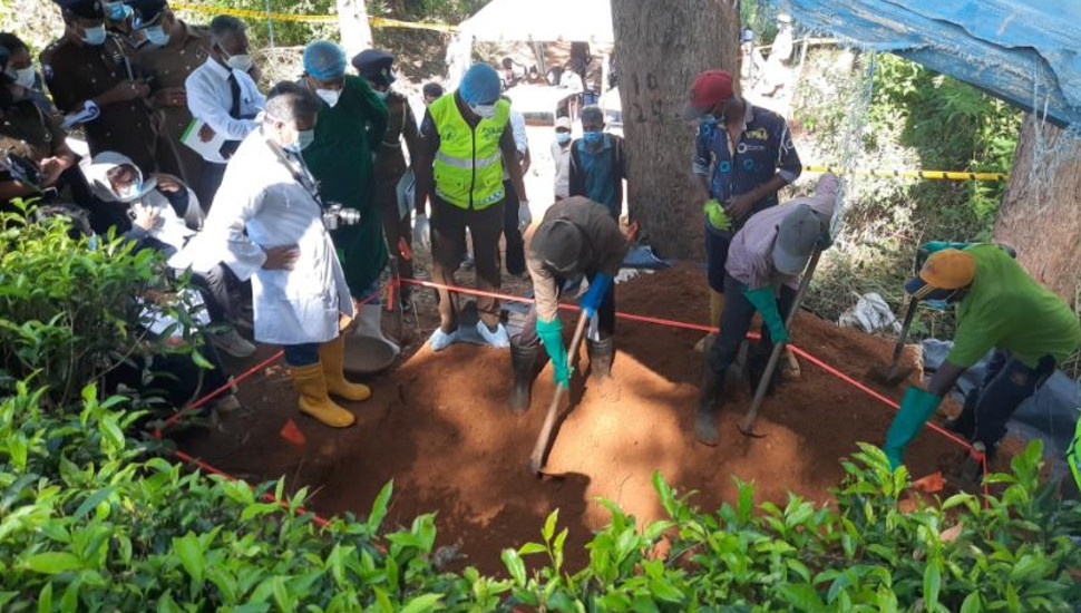 Body of Bathiudeen's 16-year-old domestic aide exhumed