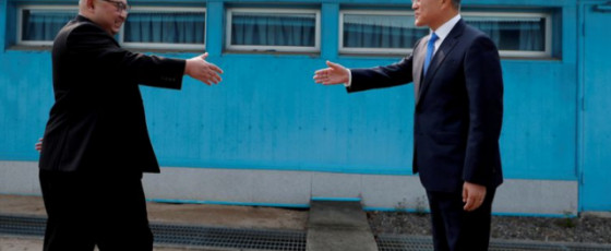 North, South Korea in talks over summit, reopening liaison office