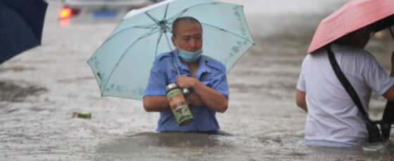 At least 16 dead as China province deluged by heaviest rains in 1,000 years
