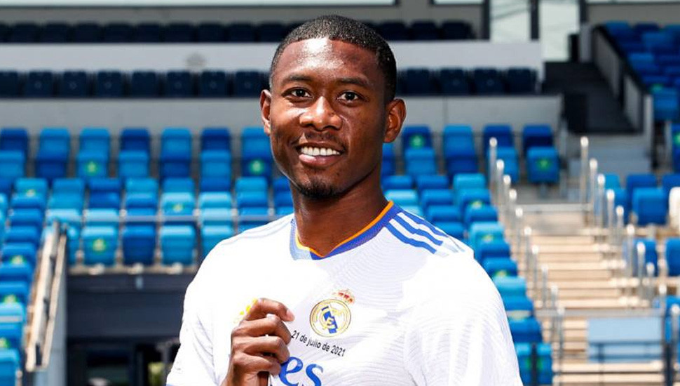 Real Madrid's new boy Alaba tests positive for COVID-19