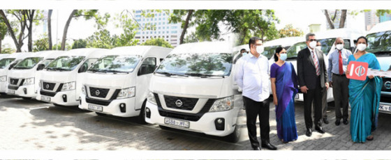 ADB-funded Vans Distributed to Provinces