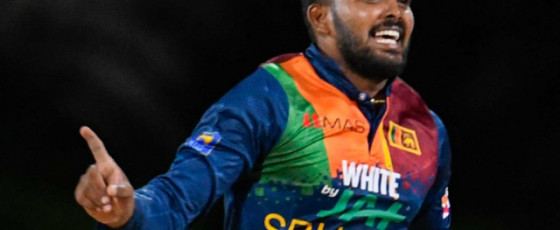 Hasaranga jumps to second spot among T20I bowlers