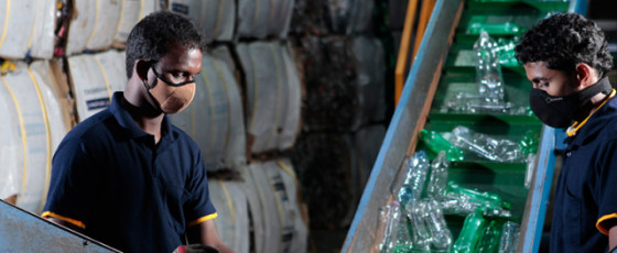 Eco Spindles leads the way in plastic recycling
