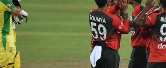 Bangladesh beat Australia for the first time in Twenty20 cricket
