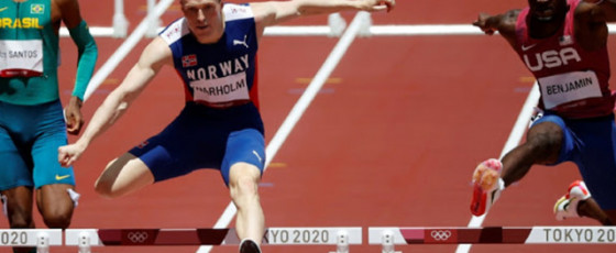 Warholm destroys world record to win 400m hurdles gold