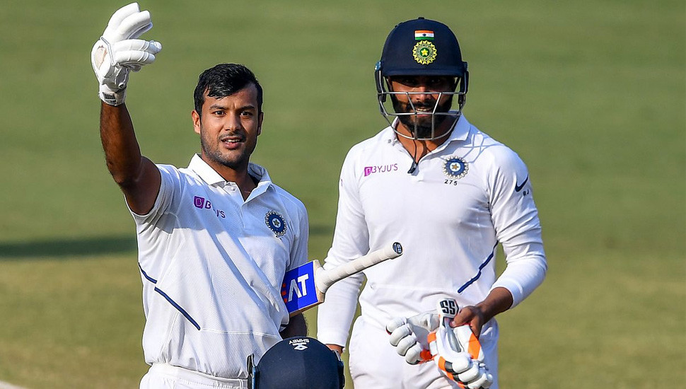 Agarwal ruled out of opening Test