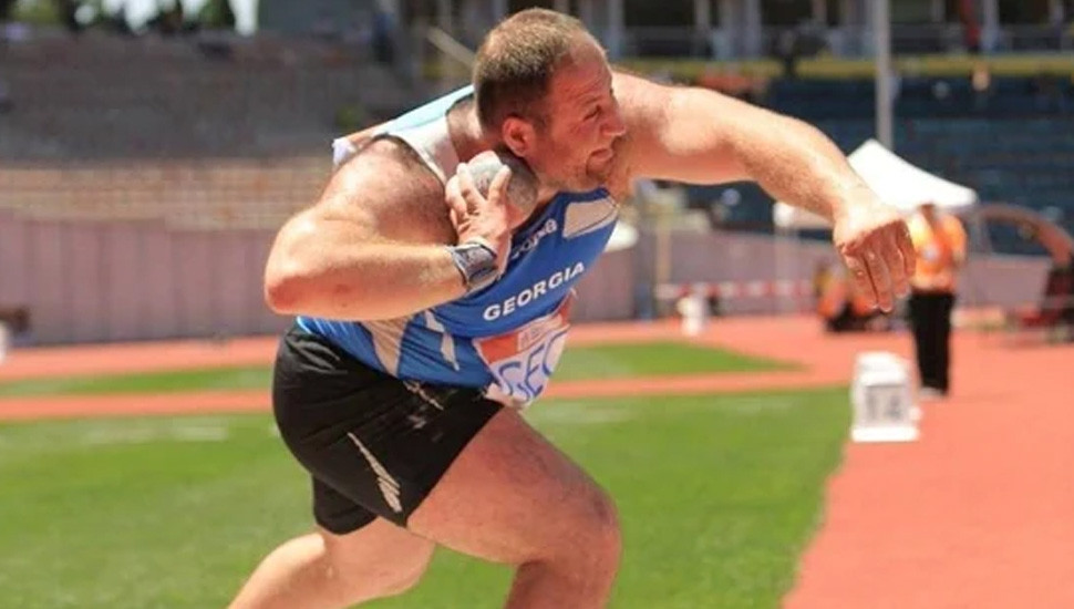 Failing doping test: Georgian shot putter provisionally banned