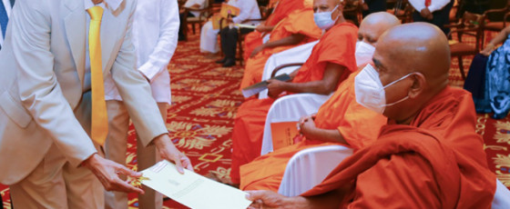 Govt ready to support Maha Sangha to develop society - Prof. Peiris