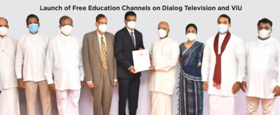 Dialog Axiata and Ministry of Education to launch 10 TV Channels free of charge