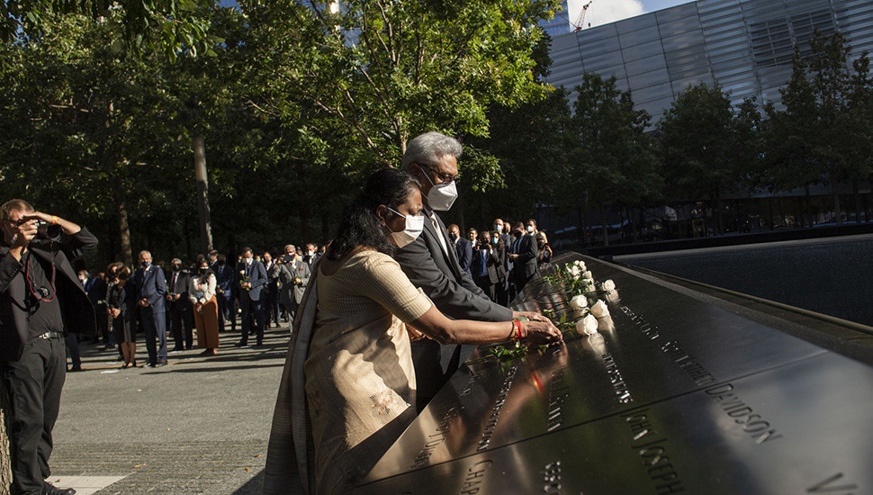 President attends 9/11 Commemoration in NY