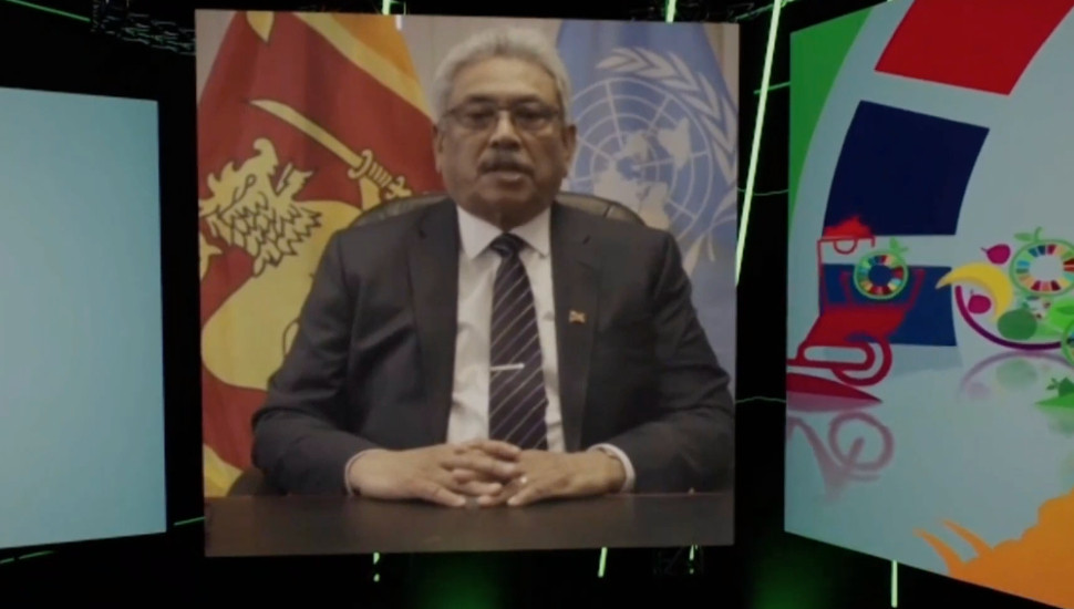 All stakeholders must work together to make global food systems more sustainable-  President Rajapaksa