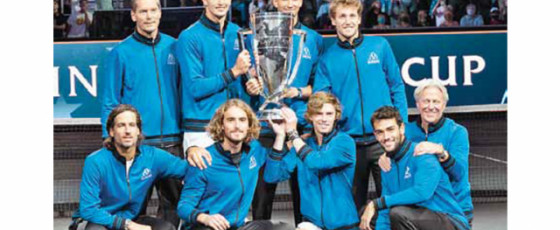 Team Europe win fourth consecutive Laver Cup
