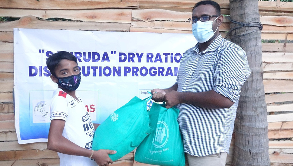 HELVETAS provides relief packages to underprivileged