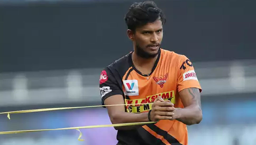 Ahead of SRH-DC clash: Natarajan in isolation after testing positive for COVID-19