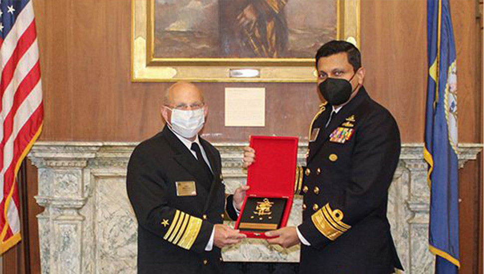 Ulugetenne Meets US Navy Chief