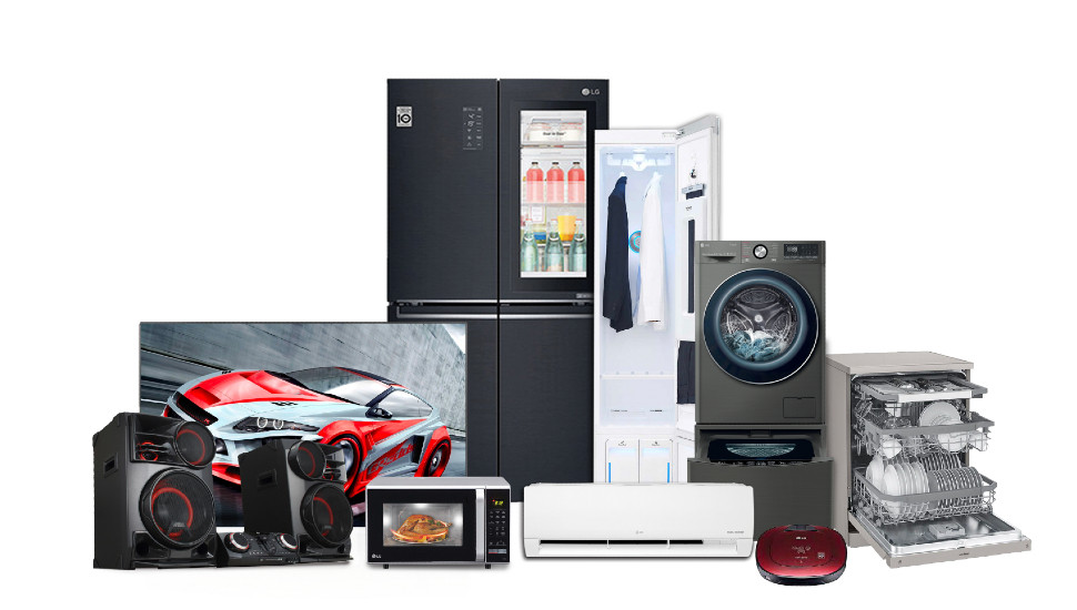 Ultimate comfort and convenience with the LG range of innovative products from Abans