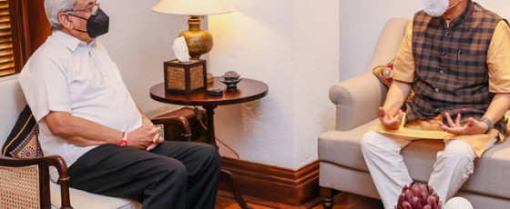 Dr. Subramanian Swamy calls on President