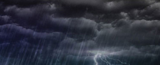 Showers, thundershowers this evening or night