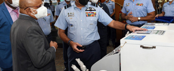 SLAF hands over two Heated Humidified Oxygen Therapy Units