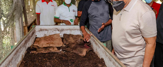President encourages organic growers