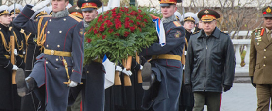 Warm welcome for Army Chief in Russia