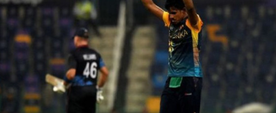 Sri Lanka restrict Namibia to 96 all out
