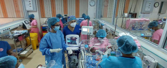 Sri Lanka welcomes its first sextuplets