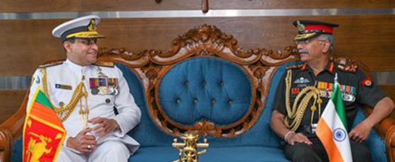 Indian Army Chief meets Navy Commander