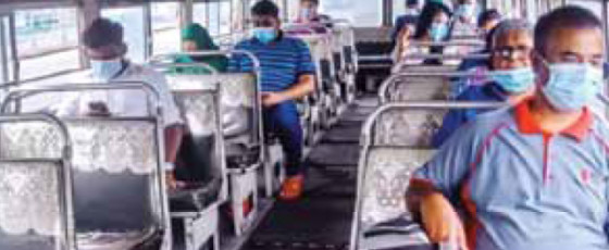 Private Bus Sector Crumbles Due To Lockdown