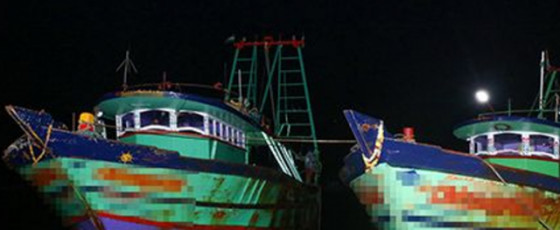 Navy seizes two Indian fishing vessels, 23 fishermen
